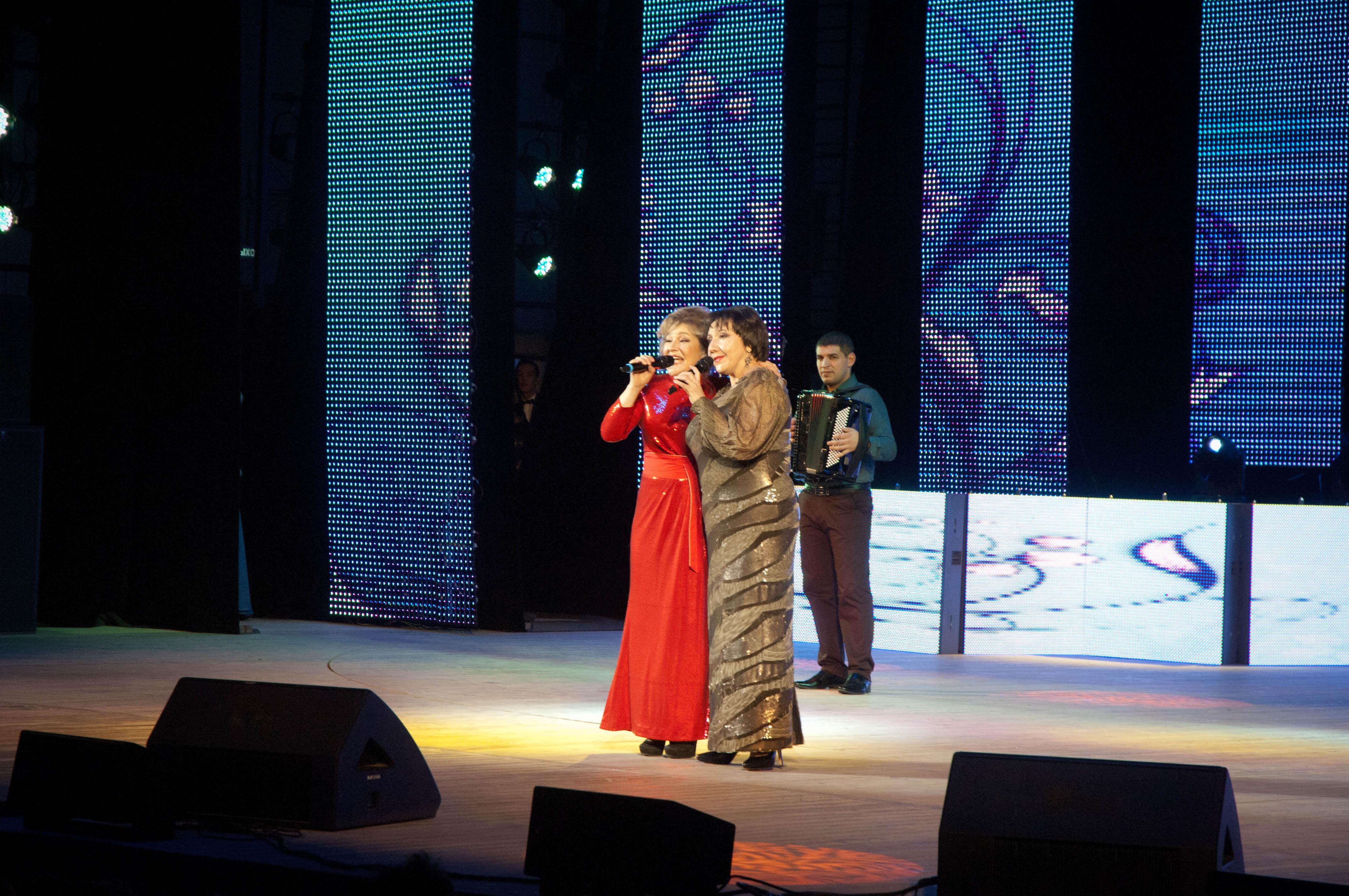 Наиля Фатехова и Роза Хабибуллина